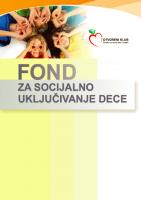 Fond za socijalno uključivanje dece